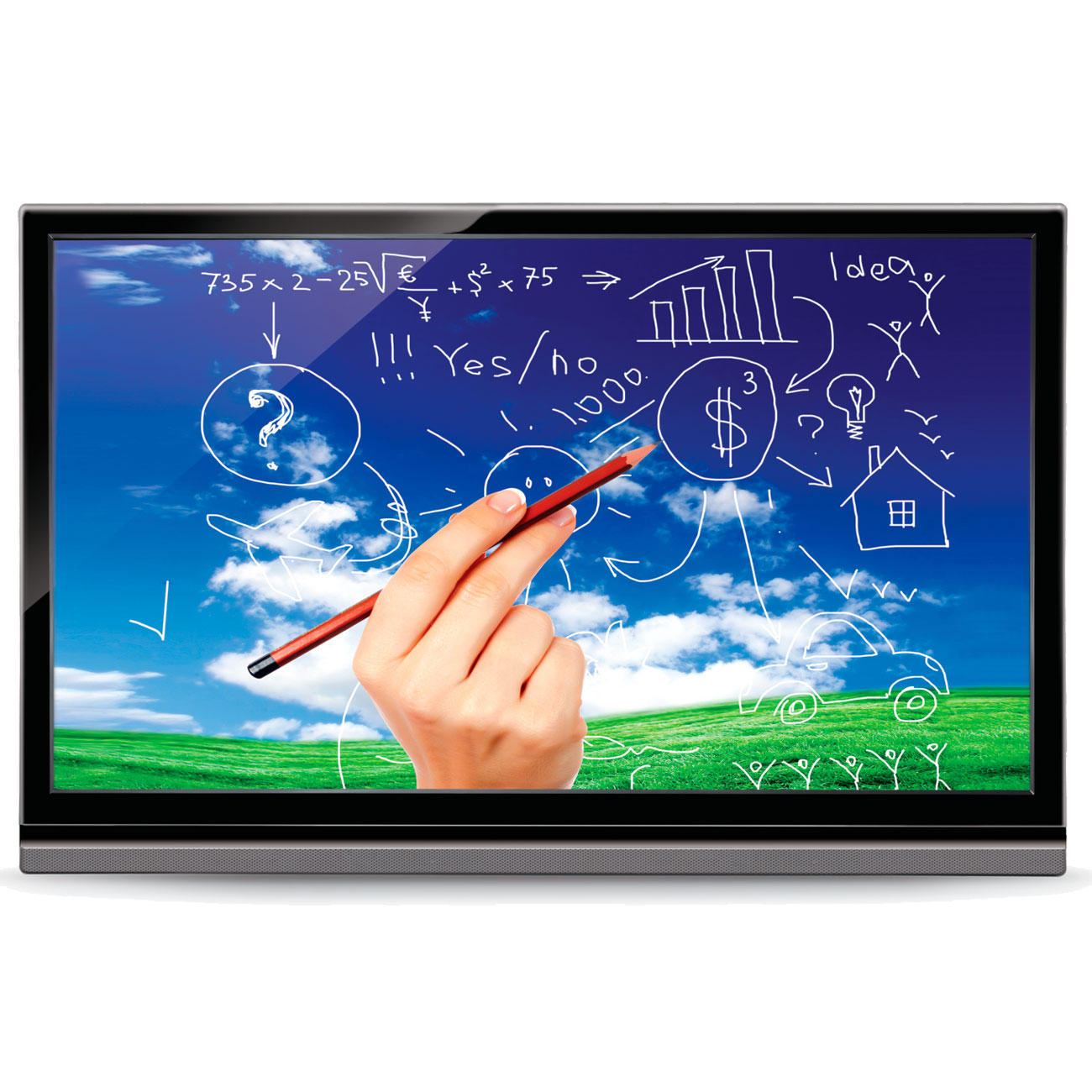 Interactive Digital Whiteboards
